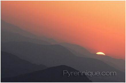 Pyrenees Sunset